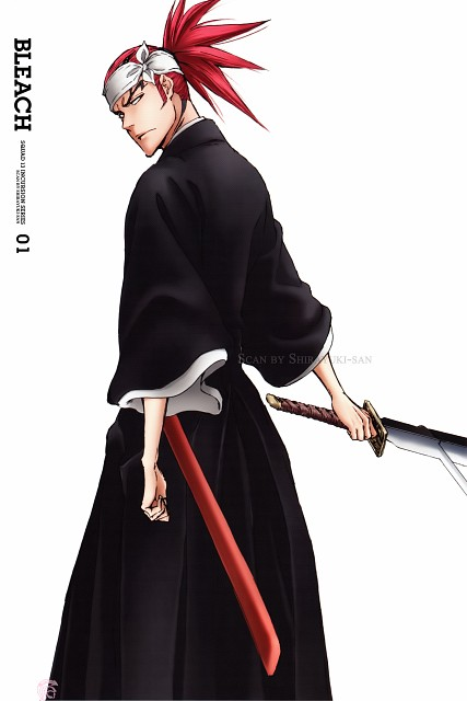 Studio Pierrot, Bleach, Renji Abarai, DVD Cover