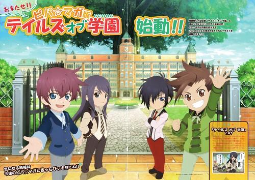 Kousuke Fujishima, Mutsumi Inomata, Tales of Destiny, Tales of Graces, Tales of Vesperia