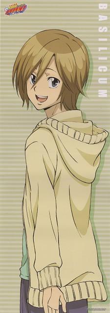 Akira Amano, Katekyo Hitman Reborn!, Basil, Stick Poster