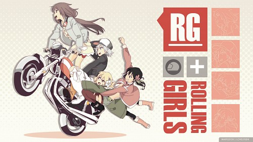 Rolling Girls Wallpaper
