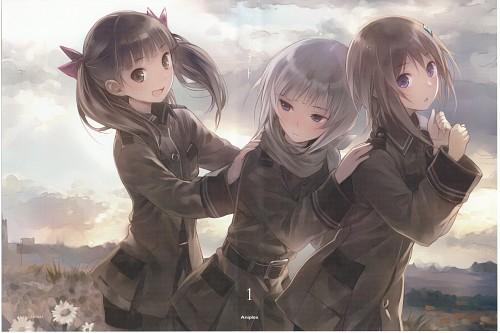 Mel Kishida, Sora no Woto, Kureha Suminoya, Noel Kannagi, Kanata Sorami
