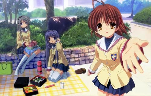 Kyoto Animation, Clannad, Tomoyo Sakagami, Nagisa Furukawa, Kyou Fujibayashi