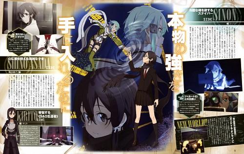 Abec, A-1 Pictures, Sword Art Online, Kazuto Kirigaya, Shino Asada