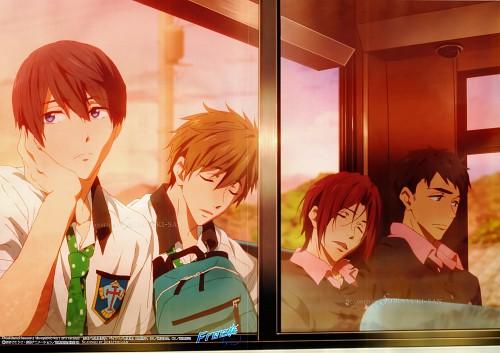 Kyoto Animation, Free!, Rei Ryuugazaki, Rin Matsuoka, Sousuke Yamazaki