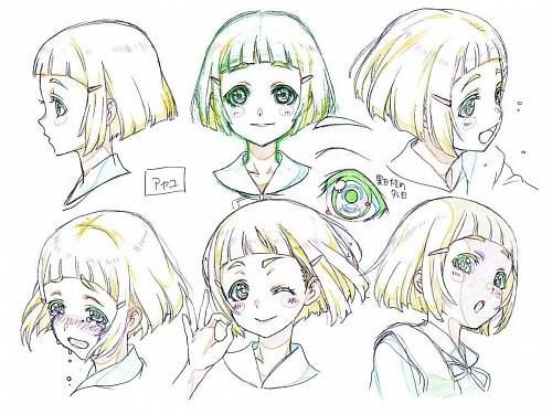 Asako Nishida, Gainax, Neon Genesis Evangelion, Character Sheet