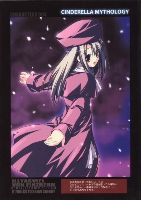 Satoshi Kiba, TYPE-MOON, Fate/stay night, Illyasviel von Einzbern