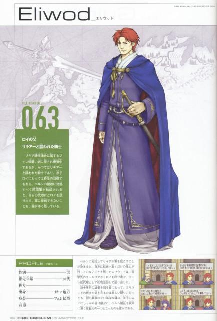 Eiji Kaneda, Fire Emblem, Eliwood, Character Sheet