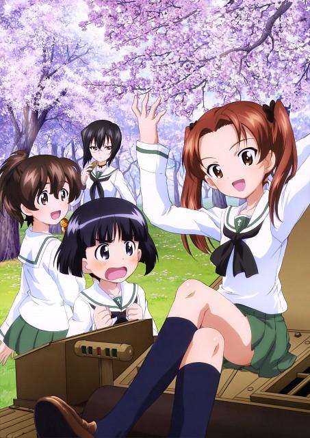 Asuka Yamaguchi, Actas, GIRLS und PANZER, Sono Midoriko, Yuzu Koyama