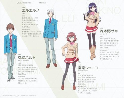 Sunrise (Studio), Kakumeiki Valvrave, Saki Rukino, L-elf Karlstein, Haruto Tokishima