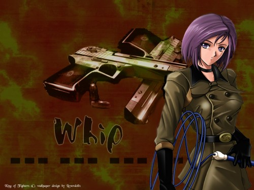 SNK, King of Fighters, Whip (King of Fighters) Wallpaper