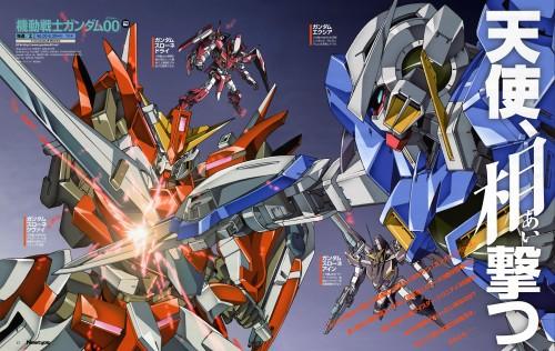 Seiichi Nakatani, Mobile Suit Gundam 00, Magazine Page
