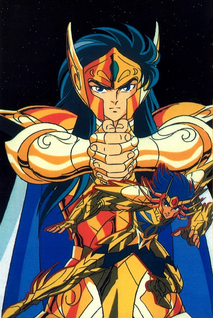 Masami Kurumada, Toei Animation, Saint Seiya, Aquarius Camus, Cancer DeathMask