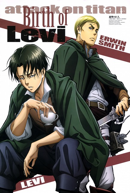 Tomoko Sugidomari, Production I.G, Shingeki no Kyojin, Erwin Smith, Levi Ackerman