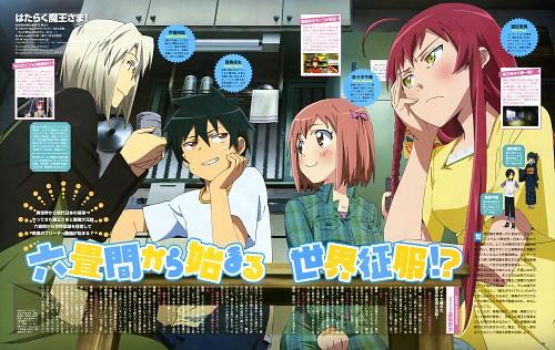 Atsushi Itagaki, White Fox, Hataraku Maou-sama!, Chiho Sasaki, Emi Yusa