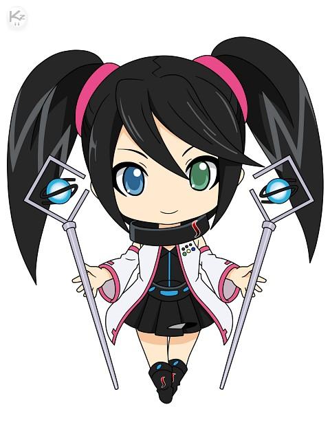 TMS Entertainment, Sega Hard Girls, Sega Saturn (Character), Vector Art