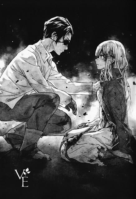Akiko Takase, Kyoto Animation, Violet Evergarden, Violet Evergarden (Character), Gilbert Bougainvillea