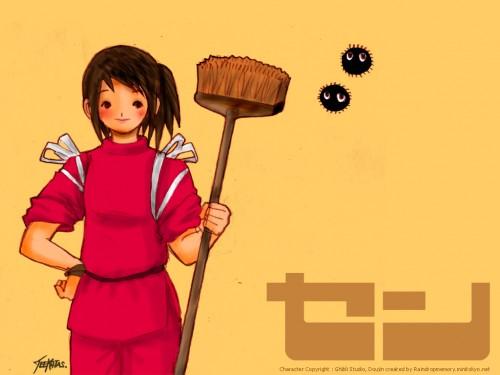 Studio Ghibli, Spirited Away, Chihiro Ogino Wallpaper