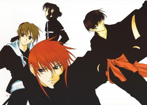Kyoko Tsuchiya, Weiss Kreuz, Ken Hidaka, Omi Tsukiyono, Youji Kudou