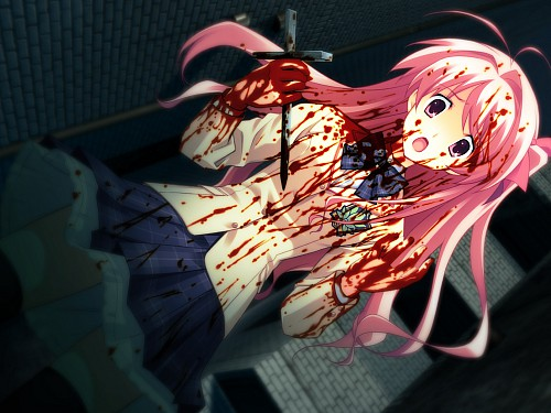 Madhouse, Nitro+, Chaos Head, Rimi Sakihata, Game CG