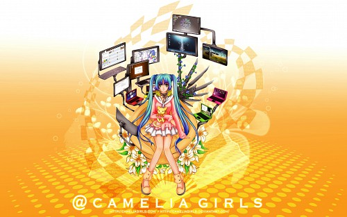 Camelia Girls Wallpaper
