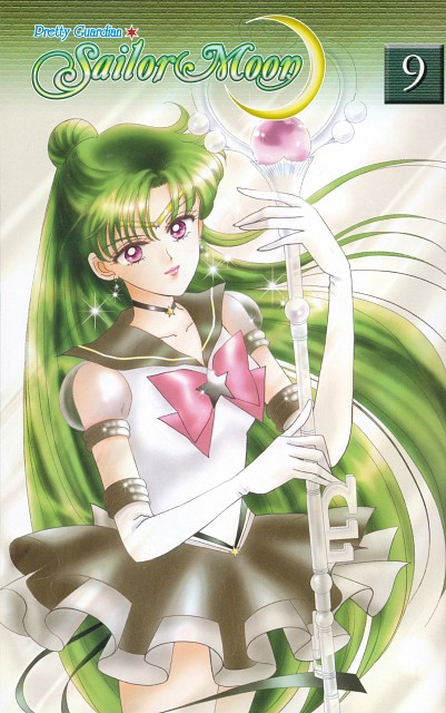 Naoko Takeuchi, Bishoujo Senshi Sailor Moon, Eternal Sailor Pluto, Manga Cover