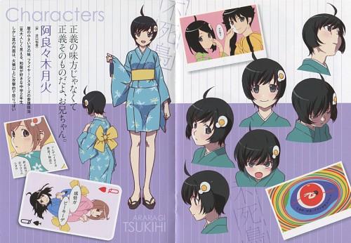 Shaft (Studio), Bakemonogatari, Tsukihi Araragi, Character Sheet