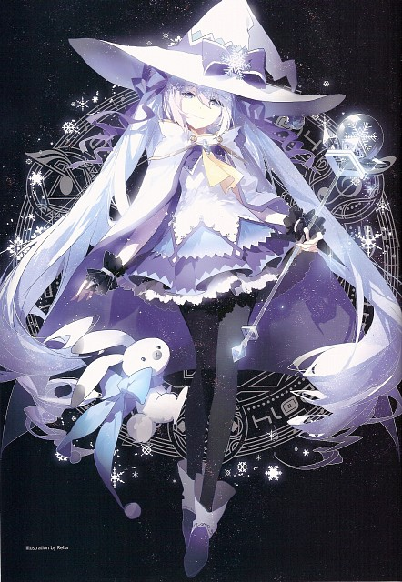 Rella, Snow Miku 5th Anniversary Memorial Book, Vocaloid, Miku Hatsune