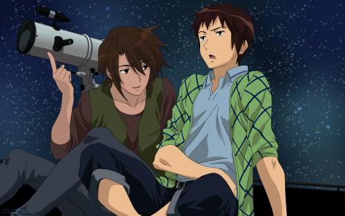 Noizi Ito, Kyoto Animation, The Melancholy of Suzumiya Haruhi, Kyon, Itsuki Koizumi Wallpaper