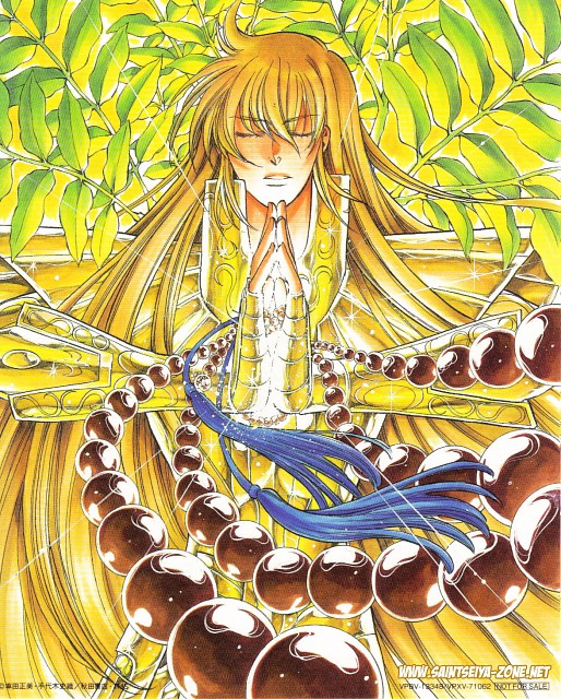 Shiori Teshirogi, Masami Kurumada, Saint Seiya: The Lost Canvas, Virgo Asmita
