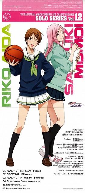 Tadatoshi Fujimaki, Production I.G, Kuroko no Basket, Satsuki Momoi, Riko Aida