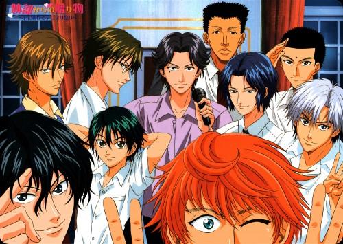 J.C. Staff, Prince of Tennis, Kojiro Saeki, Shinji Ibu, Hajime Mizuki
