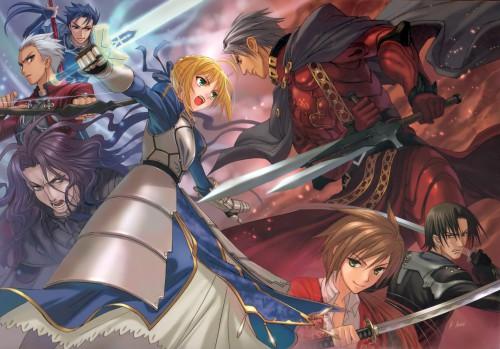 Nitro+, TYPE-MOON, Fate/Zero, Nitroplus Vs Type-moon Calendar 2010, Fate/stay night