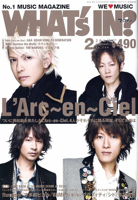 Tetsuya Ogawa, L'Arc~en~Ciel, Yukihiro Awaji, Ken Kitamura, Hyde (J-Pop Idol)