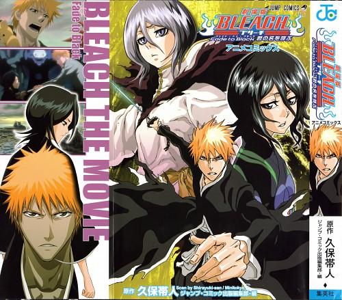 Studio Pierrot, Bleach, Ichigo Kurosaki, Rukia Kuchiki, Manga Cover