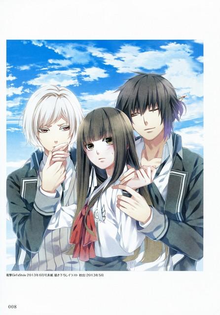 Teita, Idea Factory, NORN9 Official Fan Book, NORN9, Sakuya Nijou