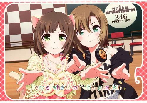 Goyac, Idol Master: Cinderella Girls, Riina Tada, Miku Maekawa, Doujinshi Cover