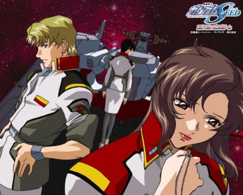 Hisashi Hirai, Sunrise (Studio), Mobile Suit Gundam SEED, Natarle Badgiruel, Mu La Flaga