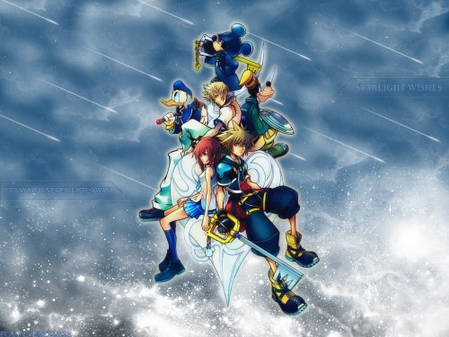 Square Enix, Kingdom Hearts, Donald Duck, Goofy, Roxas Wallpaper