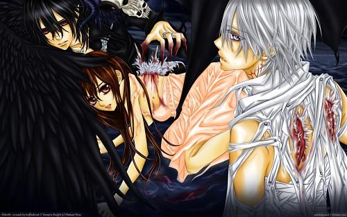 Matsuri Hino, Vampire Knight, Zero Kiryuu, Kaname Kuran, Yuuki Cross Wallpaper