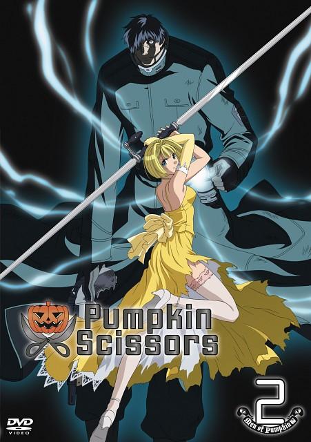 Gonzo, Pumpkin Scissors, Randel Oland, Alice L. Malvin, DVD Cover