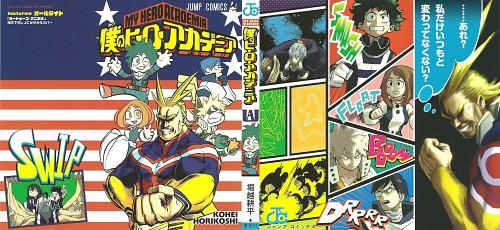 Kouhei Horikoshi, Boku no Hero Academia, Shigaraki Tomura, Tenya Lida, Toshinori Yagi