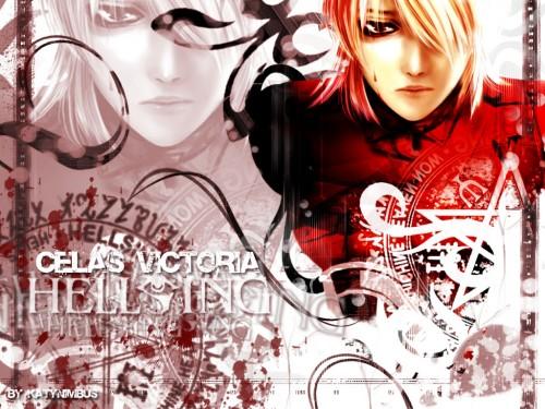 Solid & Etc, Hellsing, Victoria Seras, Doujinshi Wallpaper