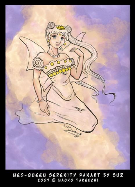 Naoko Takeuchi, Bishoujo Senshi Sailor Moon, Neo-Queen Serenity, Member Art