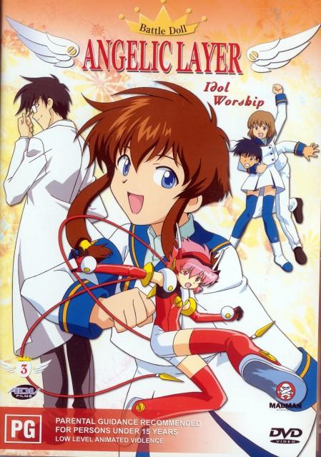 CLAMP, Angelic Layer, Kotaro Kobayashi, Tamayo Kizaki, Ichiro Mihara