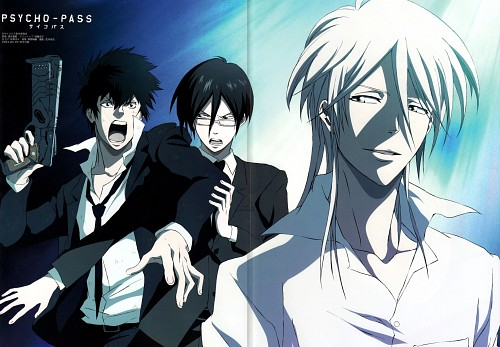 Production I.G, PSYCHO-PASS, Shinya Kougami, Shougo Makishima, Ginoza Nobuchika
