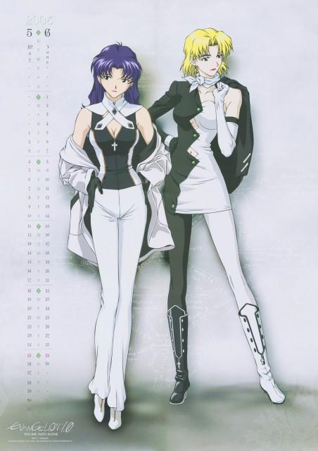 Yoshiyuki Sadamoto, Youichi Fukano, Gainax, Neon Genesis Evangelion, Misato Katsuragi