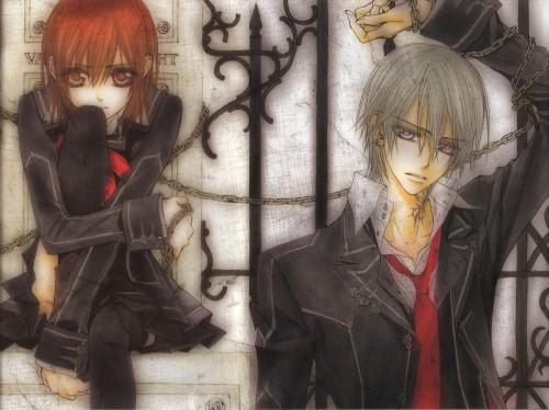 Matsuri Hino, Vampire Knight, Yuuki Cross, Zero Kiryuu