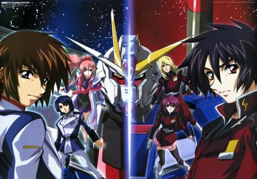 Sunrise (Studio), Mobile Suit Gundam SEED Destiny, Lacus Clyne, Rey Za Burrel, Kira Yamato