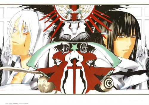 Katsura Hoshino, D Gray-Man, Noche - D.Gray-man Illustrations, Yu Kanda, Allen Walker