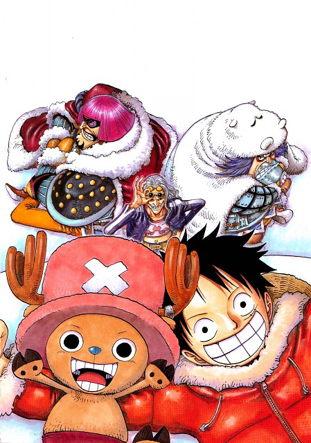 Eiichiro Oda, Toei Animation, One Piece, Color Walk 5 - Shark, Wapol